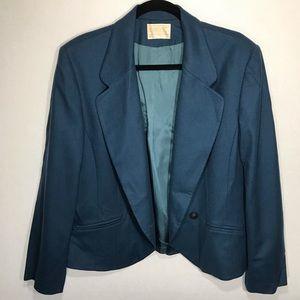 Vintage Pendleton Women's One-Button Blazer